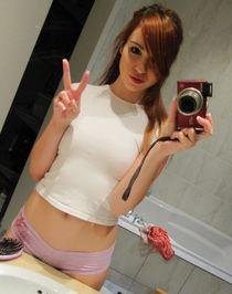 self-pics - Cute faced redhead