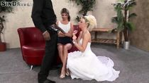 Bride And Her Friend Share Big Dick - EPORNER