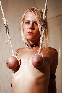 Amature mature bondage tit torture - Bondage