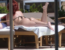Demi Lovato in Bikini at a Pool in Chile - HawtCelebs