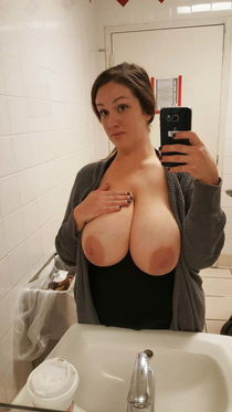 """See and Save As """"sex freckled brunette with giant tits big a"""