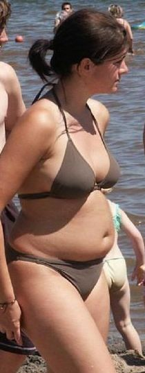 Chubby in Swimsuit gallery
