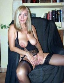 Mature aged housewives walking nude at home