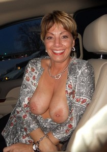 She loves showing off her tits!.