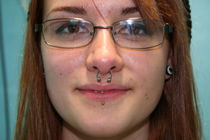 Piercings - Lip - Labret - Snakeman's Tattoos, Piercing & Le