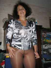 Wife nudist takes off her clothes
