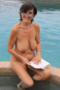 Beautiful mature homemade in a hot novice picture.