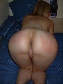 Big spanked ass