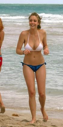 Beach pokies.