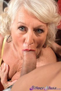 Jeannie Lou's amazing old pussy gets fucked by a younger man