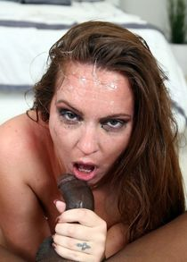 Throated shows how black cock destroys mouth of pornstar Maddy OReilly