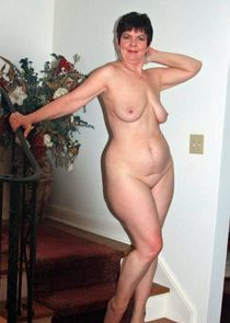 Horny mature women with nude tits and old pussies