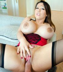 Sexy Huge Tit Asian Milf Tigerr Benson Gets Her Big Ass Hammered