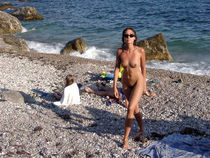 Black sea and nude vacation