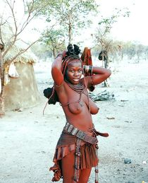 Naked girls from african tribe, topless african girls