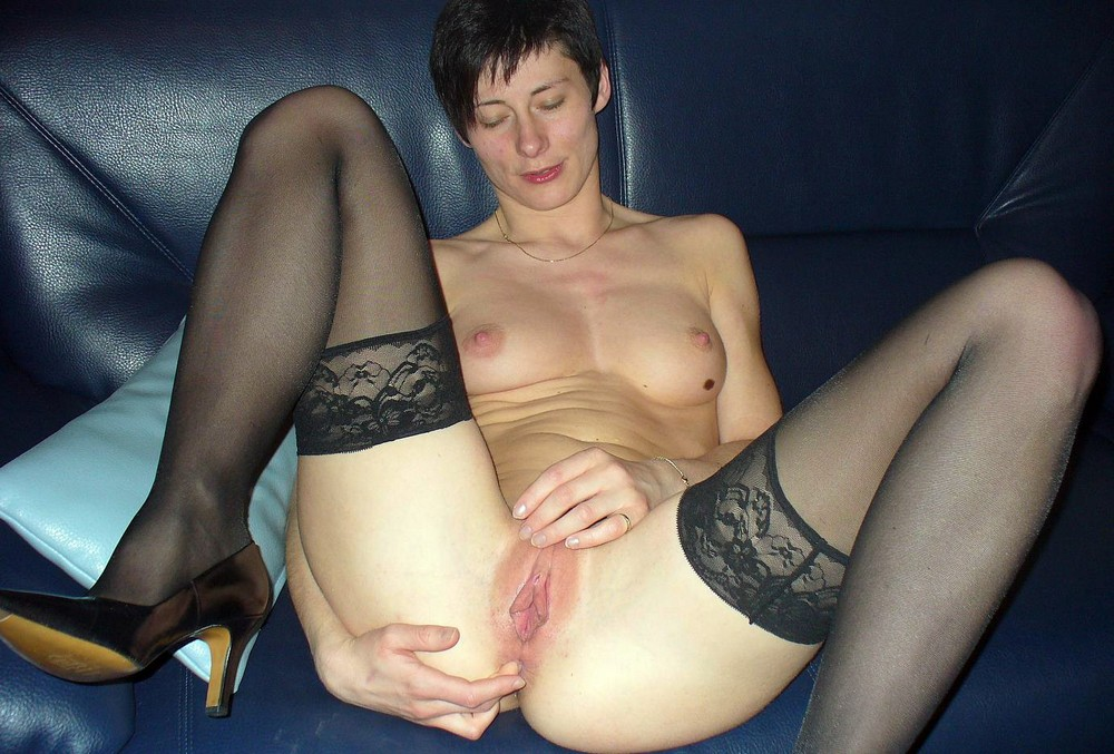 Short Hair Amateur Handjob
